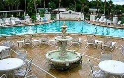 Mas Verde 55+ community pool in Lakeland Fla.