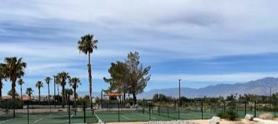 pickle ball courts at Caliente Springs Resort