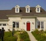 model home at Providence of Brookfield Homes in Delaware