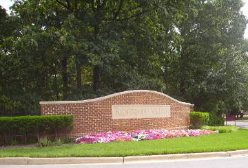 Riderwood Maryland entrance