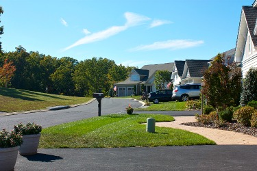 View of street at Trilogy Lake Frederick