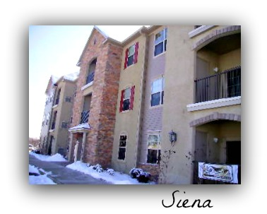 Siena condominiums