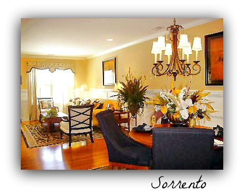 Siena condo sorrento model home
