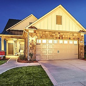 Southern Springs 55+ community by Del Webb home